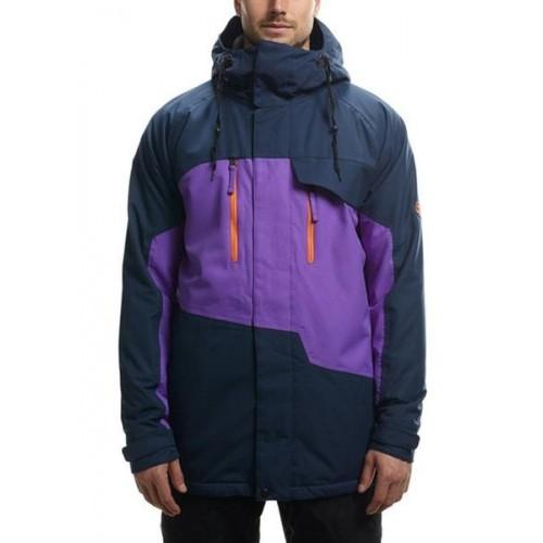 Куртка 686 Authentic Geo Insulated Midnight Blue