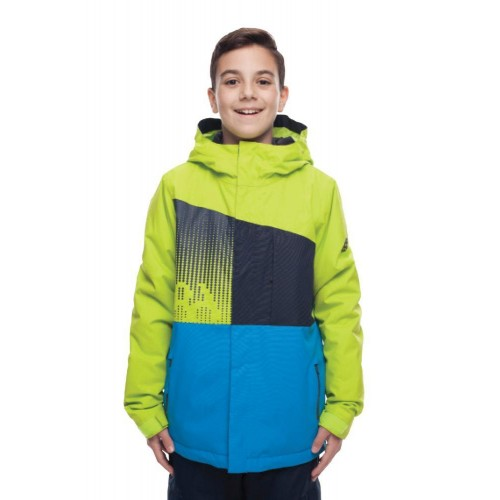 Куртка 686 Knockout Insulated 18/19 Lime Colorblock