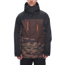 Куртка 686 Geo Insulated 18/19 Dark Camo Colorblock
