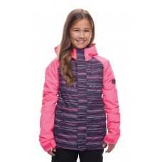 Куртка 686 Dream Insulated 18/19 Hibiscus Stripe Colorblock
