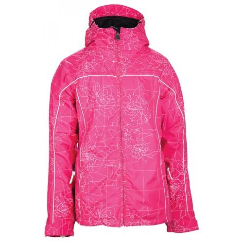 Куртка 686 Smarty Сinder Мagenta Мaps Рrint