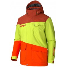 Куртка Marmot Space Walk Org Rust-Green Lime-Sunset Orange