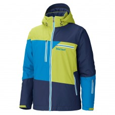 Куртка Marmot Treeline Navy-Green Lime-Methyl Blue