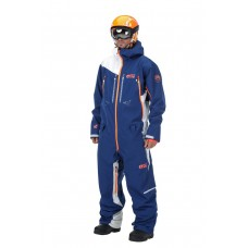 Комбинезон Picture Stratos Suit Dark Blue-White