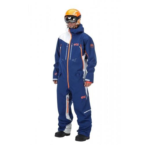 Комбинезон Picture Stratos Suit Dark Blue-White