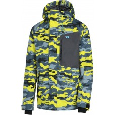 Куртка Rehall Fayke Camo Blazing Yellow