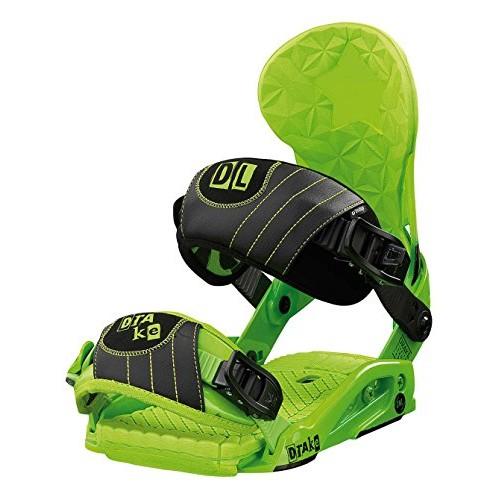 Крепления сноубордические Drake DL Acid Green