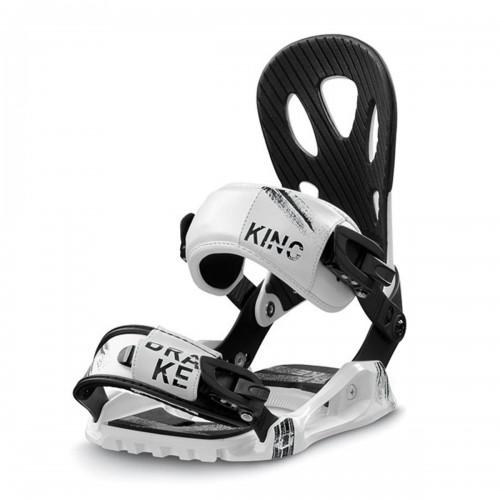 Крепления сноубордические Drake King White
