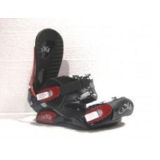 Крепления сноубордические Ispo Bone Girls Black-Red