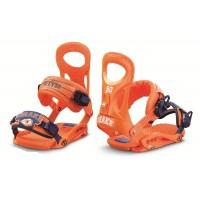 Крепления сноубордические Drake Fifty Orange