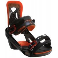 Крепления сноубордические Salomon Balance Army Orange