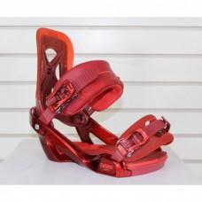 Крепления сноубордические Salomon Balance Red
