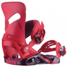 Крепления сноубордические Salomon Mirage Red