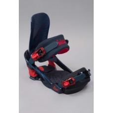 Крепления сноубордические Salomon Trigger Blue-Red