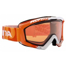 Маска Alpina Panoma OTG Orange-White Logo