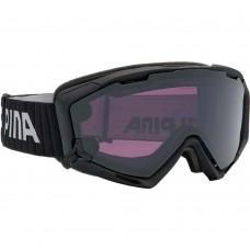 Маска Alpina Panoma S Мagnetic Black Matt