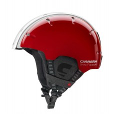 Шлем Carrera Foldable Snow Red-White