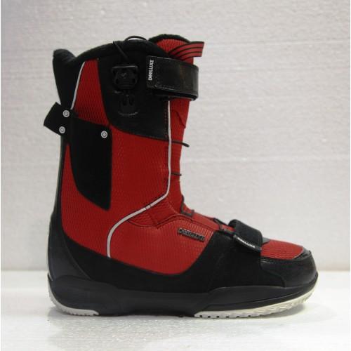 Сноубордические ботинки Dee Luxe Del Mar Black-Red