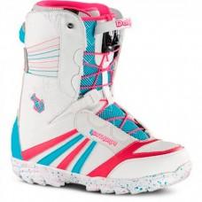 Сноубордические ботинки Northwave Dahlia SL White-Light Blu
