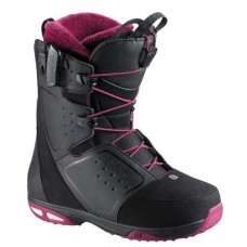 Сноубордические ботинки Salomon Moxie Black-Rubis-Gy