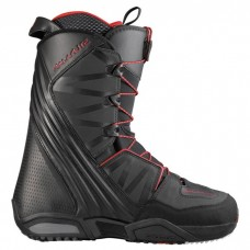 Сноубордические ботинки Salomon Malamute Black-Red