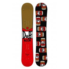 Сноуборд Santa Cruz Duff Beer Rocket Red-Brown 154