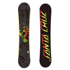 Сноуборд Santa Cruz Rasta Hand Yellow 153