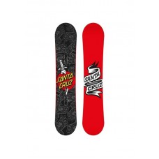 Сноуборд Santa Cruz Tattooed Hand Grey-Red 155
