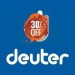 На Deuter скидки до -30-40%!
