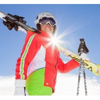 Лыжная одежда Основной цвет синий
