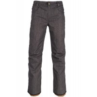 Штаны 686 Raw 18/19 Insulated Black Denim