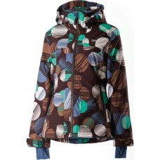 Куртка Rehall Leila Dots Choco Brown