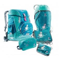 Школьный набор Deuter OneTwoSet - Sneaker Bag Petrol Horse