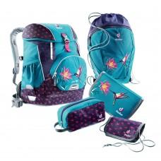 Школьный набор Deuter OneTwoSet - Sneaker Bag Petrol Bird