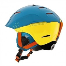 Шлем Alpina Cheos Blue/Yellow
