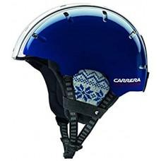 Шлем Carrera Foldable Snow Blue-White