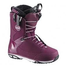 Сноубордические ботинки Salomon Kiana Bordeaux-Black